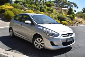 2015 Hyundai Accent RB2 MY15 Active Silver 4 Speed Sports Automatic Hatchback St Marys Mitcham Area Preview
