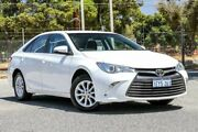 2016 Toyota Camry ASV50R Altise White 6 Speed Sports Automatic Sedan Gosnells Gosnells Area Preview