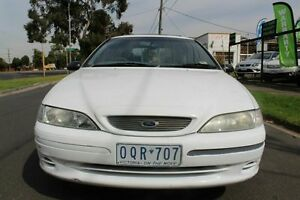 1996 Ford Fairmont White Automatic Wagon West Footscray Maribyrnong Area Preview