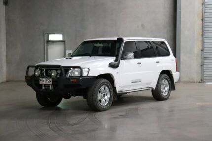 2011 Nissan Patrol GU 7 MY10 ST White 4 Speed Automatic Wagon Acacia Ridge Brisbane South West Preview