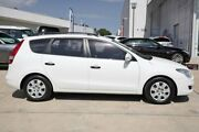 2009 Hyundai i30 FD MY09 SX cw Wagon White 5 Speed Manual Wagon Castle Hill The Hills District Preview