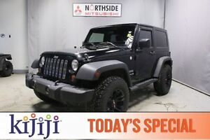 2010 Jeep Wrangler 4WD SPORT Accident Free,  A/C,