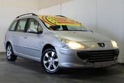 2006 Peugeot 307 MY06 Upgrade XSE HDI 2.0 Touring Silver 6 Speed Tiptronic Wagon Underwood Logan Area Preview