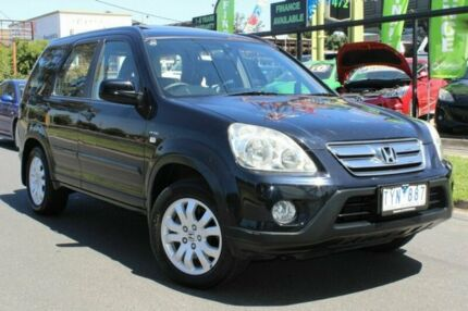 2005 Honda CR-V RD MY2005 Sport 4WD Black 5 Speed Automatic Wagon West Footscray Maribyrnong Area Preview