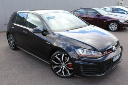 2014 Volkswagen Golf Black Sports Automatic Dual Clutch Hatchback Heidelberg Heights Banyule Area Preview