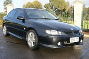 2001 Holden Commodore VX II SS Black 4 Speed Automatic Sedan Blair Athol Port Adelaide Area Preview
