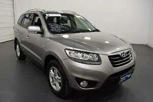 2010 Hyundai Santa Fe CM MY10 SLX CRDi (4x4) Silver 6 Speed Automatic Wagon Moorabbin Kingston Area Preview