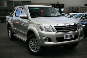 2012 Toyota Hilux Silver Automatic Utility Frankston Frankston Area Preview
