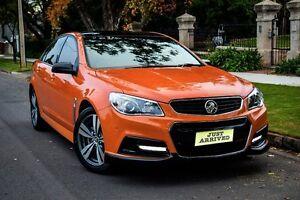 2013 Holden Commodore VF MY14 SV6 Fantale Orange 6 Speed Manual Sedan Medindie Walkerville Area Preview