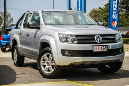 2016 Volkswagen Amarok 2H MY17 TDI400 4MOT Core Plus Silver 6 Speed Manual Utility Aspley Brisbane North East Preview