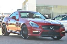 2013 Mercedes-Benz SLK55 R172 AMG SPEEDSHIFT PLUS Red 7 Speed Sports Automatic Roadster Osborne Park Stirling Area Preview