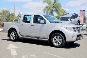 2011 Nissan Navara D40 MY11 ST-X Silver 6 Speed Manual Utility Gympie Gympie Area Preview