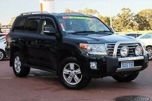 2013 Toyota Landcruiser VDJ200R MY13 VX Black 6 Speed Sports Automatic Wagon Wangara Wanneroo Area Preview