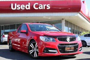 2015 Holden Ute VF MY15 SV6 Ute Storm Red Hot 6 Speed Sports Automatic Utility Liverpool Liverpool Area Preview