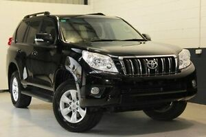 2012 Toyota Landcruiser Prado  Black Sports Automatic Wagon Blair Athol Port Adelaide Area Preview