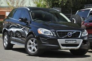 2012 Volvo XC60 DZ MY13 D4 Geartronic Teknik Black 6 Speed Sports Automatic Wagon Mosman Mosman Area Preview