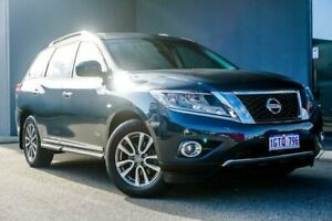 2016 Nissan Pathfinder R52 MY16 ST-L X-tronic 4WD Blue 1 Speed Constant Variable Wagon Hybrid Osborne Park Stirling Area Preview