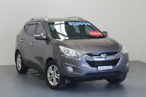 2010 Hyundai ix35 LM MY11 Elite AWD Grey 6 Speed Sports Automatic Wagon Hamilton East Newcastle Area Preview