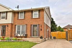 Spacious 3 Bedroom Semi-Detached Home Maintained To Perfection!