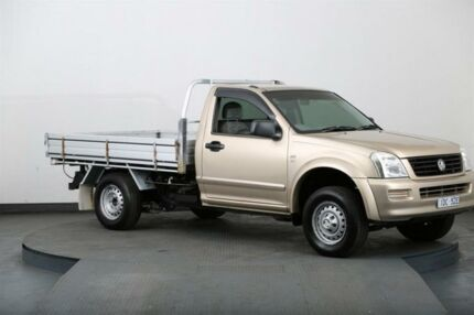 2006 Holden Rodeo RA MY06 Upgrade LX Gold 5 Speed Manual Cab Chassis Smithfield Parramatta Area Preview