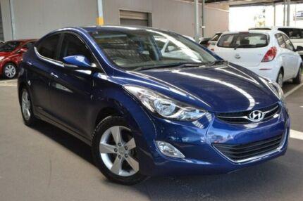 2013 Hyundai Elantra MD2 Elite Blue 6 Speed Sports Automatic Sedan Hoppers Crossing Wyndham Area Preview