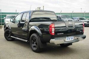 2012 Nissan Navara D40 S6 MY12 ST-X King Cab Black 6 Speed Manual Cab Chassis Osborne Park Stirling Area Preview
