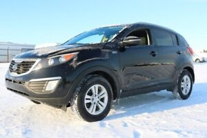 2012 Kia Sportage AWD LX Heated Seats,  Bluetooth,  A/C,
