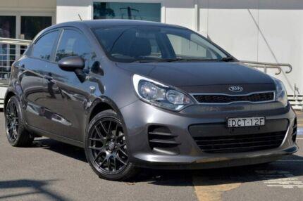 2015 Kia Rio UB MY16 S Grey 4 Speed Sports Automatic Hatchback Gosford Gosford Area Preview