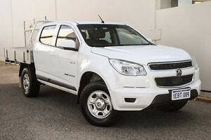 2012 Holden Colorado RG MY13 LX Crew Cab White 6 Speed Sports Automatic Cab Chassis Bellevue Swan Area Preview