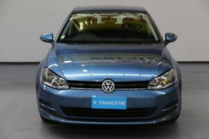 2015 Volkswagen Golf VII MY15 90TSI DSG Pacific Blue 7 Speed Sports Automatic Dual Clutch Hatchback