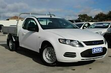 2012 Ford Falcon FG MkII EcoLPi Super Cab White 6 Speed Sports Automatic Cab Chassis Craigieburn Hume Area Preview