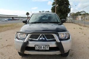 2012 Mitsubishi Triton MN MY12 GL-R (4x4) Blue 5 Speed Manual Dual Cab Utility Pennington Charles Sturt Area Preview