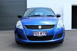 2012 Suzuki Swift FZ GA Blue 4 Speed Automatic Hatchback Toowoomba Toowoomba City Preview