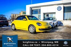2015 Volkswagen Beetle Convertible 0.99% Financing Avail OAC w/
