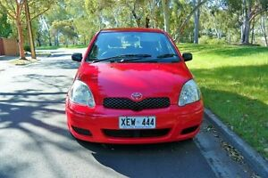 2005 Toyota Echo NCP10R MY03 Red 5 Speed Manual Hatchback Underdale West Torrens Area Preview