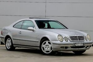 1998 Mercedes-Benz CLK320 C208 Elegance Silver 5 Speed Automatic Coupe Pakenham Cardinia Area Preview