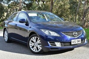 2008 Mazda 6 GH1051 Classic Blue 5 Speed Sports Automatic Hatchback St Marys Mitcham Area Preview
