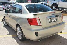 2008 Subaru Impreza MY09 R (AWD) Gold 5 Speed Manual Sedan Wolli Creek Rockdale Area Preview