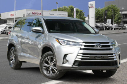 2017 Toyota Kluger GSU50R GX 2WD Silver 8 Speed Sports Automatic Wagon Adelaide CBD Adelaide City Preview