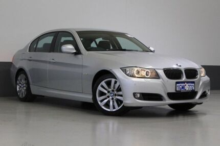 2010 BMW 325I E90 MY09 Silver 6 Speed Auto Steptronic Sedan St James Victoria Park Area Preview