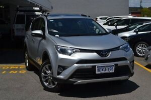 2015 Toyota RAV4 ASA44R Cruiser AWD Silver Pearl 6 Speed Sports Automatic Wagon Claremont Nedlands Area Preview