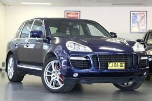 2007 Porsche Cayenne 9PA MY08 Turbo Blue 6 Speed Sports Automatic Wagon North Willoughby Willoughby Area Preview