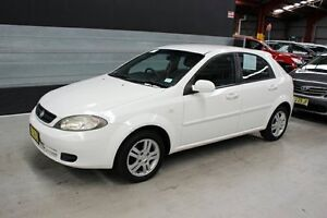 2006 Holden Viva JF White 5 Speed Manual Hatchback Maryville Newcastle Area Preview