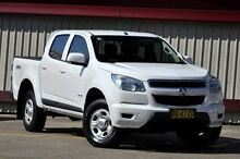2013 Holden Colorado RG LX (4x4) White 5 Speed Manual Crewcab Homebush Strathfield Area Preview