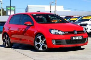 2012 Volkswagen Golf VI MY12.5 GTI DSG Red 6 Speed Sports Automatic Dual Clutch Hatchback Liverpool Liverpool Area Preview