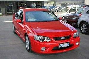 2006 Ford Falcon BF XR6T Red 6 Speed Auto Seq Sportshift Sedan Mitchell Gungahlin Area Preview