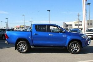 2016 Toyota Hilux Blue Sports Automatic Utility