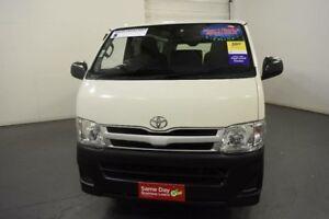 2013 Toyota Hiace KDH201R MY12 Upgrade LWB French Vanilla 4 Speed Automatic Van