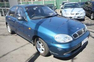 1998 Daewoo Lanos SE Blue 5 Speed Manual Hatchback Kingsville Maribyrnong Area Preview