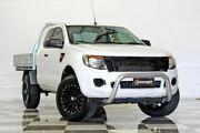 2015 Ford Ranger PX XL 2.2 HI-Rider (4x2) White 6 Speed Automatic Super Cab Chassis Burleigh Heads Gold Coast South Preview